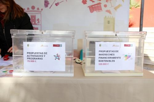 Votación Ayuntamiento Presupuestos Participativos 2019-2020