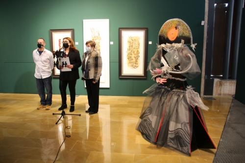 Exposición Naturalezas vivas de Paquita y Fran Serrano en el Museo