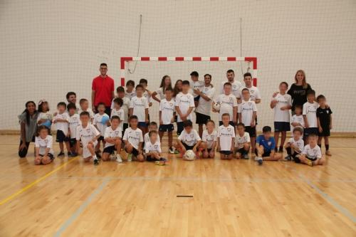 Visita a la Escuela de Verano de Fútbol Sala