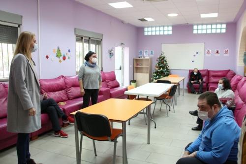 Visita al centro ocupacional de Las Salinas y videollamada virtual con los Reyes Magos