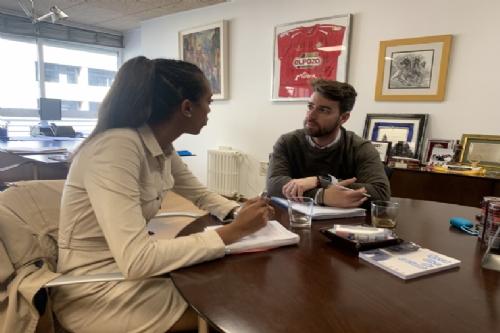 Reunión con el director general de Deportes