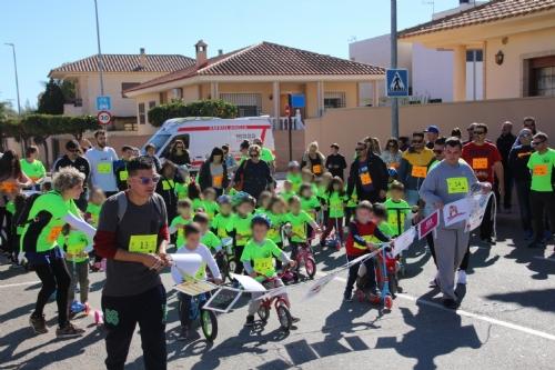 III Carrera solidaria sobre ruedas colegio Ricardo Codorníu