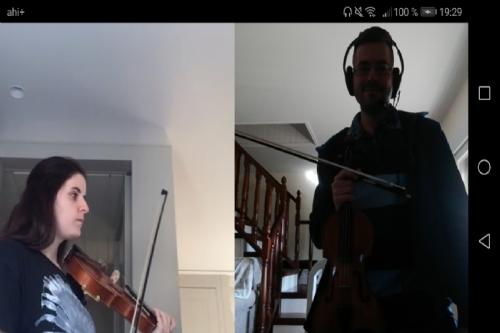 Clases de instrumento online en la escuela municipal de música