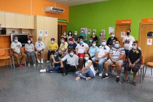 Visita de Juan Ogalla los centros de discapacidad y atención psicosocial de Las Salinas