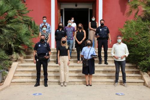 Jubilación Mercedes Policía