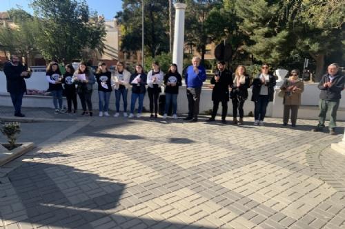 Homenaje a los deportados alhameños en los campos de concentración nazis