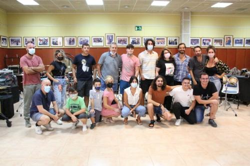 Masterclass de El Mati en la escuela municipal de música