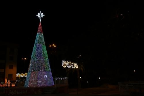 Árbol de Navidad plaza de la Constitución