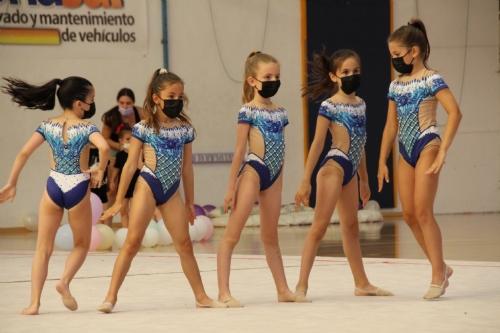 Competición gimnasia rítmica pabellón Adolfo Suárez