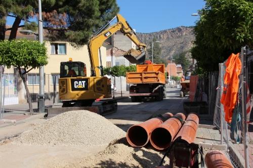Obras avenida Cartagena