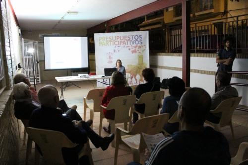 Reunión Presupuestos participativos CEIP Ginés Diaz