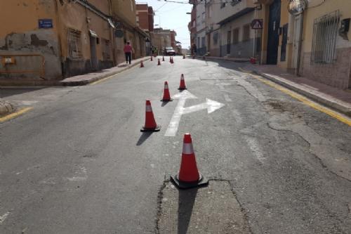 Reestructuración de calles en el barrio de Los Dolores