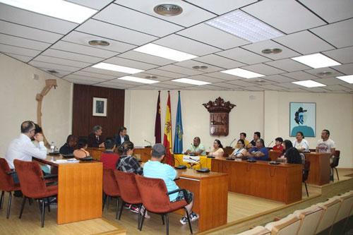 Visita del cónsul de Ecuador a Alhama